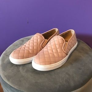 Rose Pink Steve Madden Slip-Ons